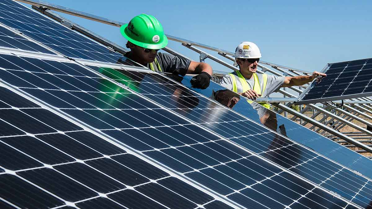 Go Green With Solar Panels